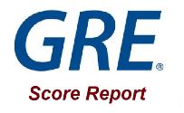 ریپورت نمره آزمون GRE